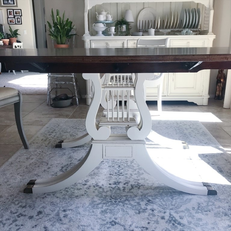 This Dining Room Table is one of my favorite makeovers. I can't imagine having a different table. I love this table with its history and stories to tell.
