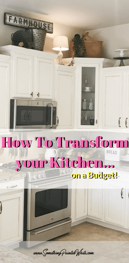 How to Transform your Kitchen Cabinets on a Budget